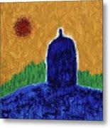 Unititled. Stupa Metal Print