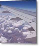 Up Above The World So High Metal Print