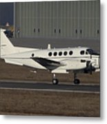 U.s. Army C-12 Huron Liaison Aircraft Metal Print