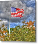 Us Flag 8091 Metal Print