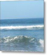 Va Beach Ocean Front Metal Print