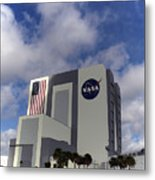 Vab At Kennedy Space Center Metal Print