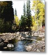 Vallecito Colorado I Metal Print