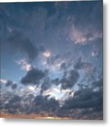 Variations Of Sunsets At Gulf Of Bothnia 5 Metal Print