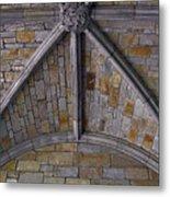Vaulted Stone Ceiling Metal Print