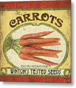 Veggie Seed Pack 4 Metal Print