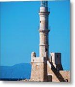 Venetian Lighthouse Metal Print