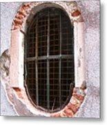Venetian Window Metal Print by Italian Art