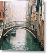 Venice Canal II Metal Print
