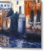 Venice Reflections Metal Print