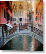 Venice Visions Metal Print