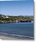 Ventry Beach And Harbor Ireland Metal Print