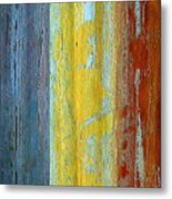 Vertical Interfusion II Metal Print