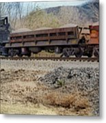 Vesuvius Train Metal Print