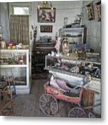 Victorian Toy Shop - Virginia City Montana Metal Print