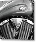 Victory Motorcycle Virginia City Nv Metal Print
