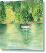 View From Millbay Ferry Metal Print