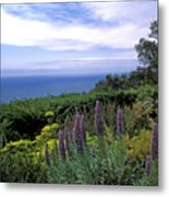 View From Ventana Big Sur Metal Print by Kathy Yates