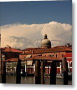 View Of San Pietro In Venice Metal Print