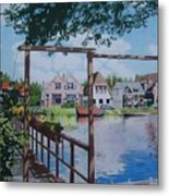 View On Hillegersberg Metal Print