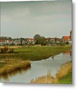 Village Of Kinderjik Netherlands Metal Print