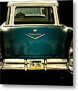 Vintage 1957 Chevy Station Wagon Metal Print