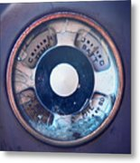 Vintage Oil Indicator Metal Print
