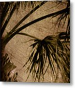 Vintage Palm Metal Print
