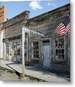 Virginia City Ghost Town - Montana Metal Print