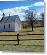 Virginia Dale Church Metal Print
