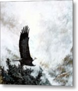 Voice Of The Eagle Reaches Toward The Heavens Metal Print
