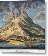 Volcano: Mt. Etna Metal Print