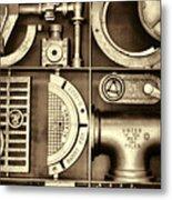 Vulcan Steel Steampunk Ironworks Metal Print