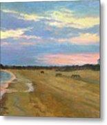 Wades Beach Sundown Study II Metal Print