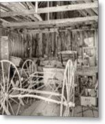 Wagon Repair Metal Print