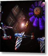 Wagon Train To The Stars Metal Print