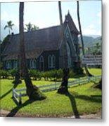 Wai Oli Hui Ia Church Metal Print