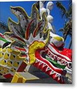 Waikiki Dragon Metal Print