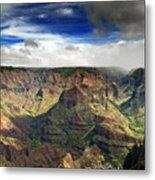 Waimea Canyon Hawaii Kauai Metal Print by Brendan Reals