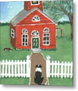 Waiting On The Bell Metal Print by Sue Ann Thornton