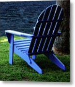 Waiting Metal Print by Sandy Keeton