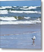Walking On The Water Metal Print