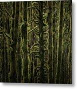 Wallpaper Trees Metal Print
