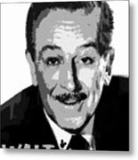 Walt Metal Print by David Lee Thompson