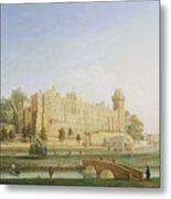 Warwick Castle Metal Print by Francis Harding