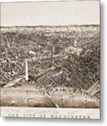 Washington D.c., 1892 Metal Print by Granger