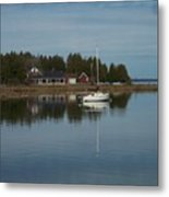Washington Island Harbor 3 Metal Print