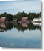 Washington Island Harbor 5 Metal Print