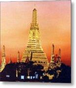 Wat  Aroon Metal Print