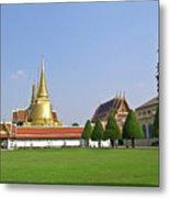 Wat Po Bangkok Thailand 37 Metal Print